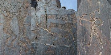 Özbekistanın 10 bin yıllık kaya resmi müzesi: Sarmışsay Vadisi
