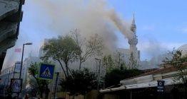 Teşvikiye Camii yangını restorasyon yangınlarını sorgulatıyor
