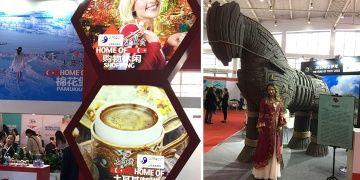 Troya Atı Çin Turizm ve Gezi Fuarında