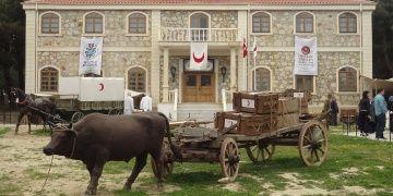 Çanakkale Savaşlarındaki Sahra Hastanesinden manzaralar