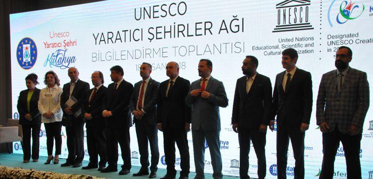 Kütahya Zanaat ve Halk Sanatlarıyla UNESCO'nun Yaratıcı Şehri seçildi