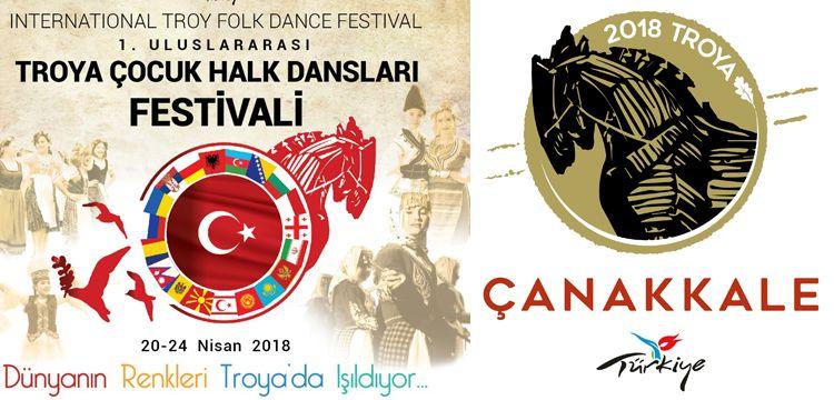 Troya Çocuk Halk Oyunları Festivaline 19 ülke katılıyor