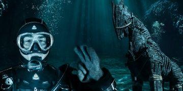 Troya atı ile deniz altında rekor denemesi yapılacak
