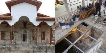 Arkeoloji kazısıyla gün yüzüne çıkan cami restore edildi