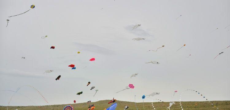 Mardin Uçurtma Festivalinde gökyüzü rengarenk oldu