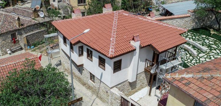 Eceabat'taki Atatürk evi restorasyonu sona yaklaşıyor