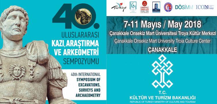 40. Uluslararası Kazı Araştırma ve Arkeometri Sempozyumu Programı