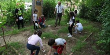Antandrosun Küçük Arkeologlarına antik bilinç aşılandı