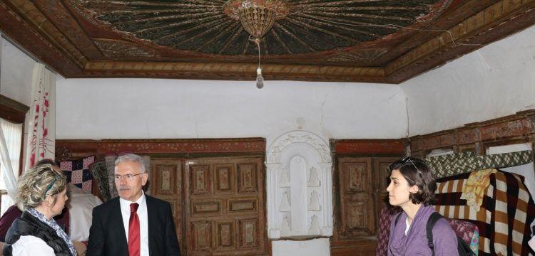 Yozgat'ın Lök Köyündeki tarihi eserler incelendi