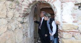 Yozgatın Lök Köyündeki tarihi eserler incelendi