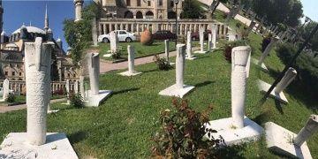 Edirnede 70 yeniçeri mezar taşı restore edildi