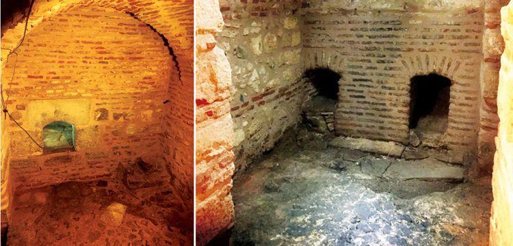 Topkapı Sarayında Hünkar Hamamının külhanı bulundu