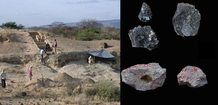 Kenya'da 300 bin yıllık ticaret izleri bulunduğu iddia edildi