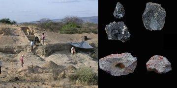 Kenyada 300 bin yıllık ticaret izleri bulunduğu iddia edildi