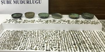 İstanbulda 4567 sikke, 251 arkeolojik obje yakalandı