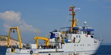 Piri Reis, Çanakkalede antik çağ batık gemilerini arıyor