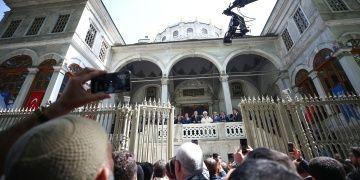 Restorasyonu biten Nusretiye Cami törenle açıldı