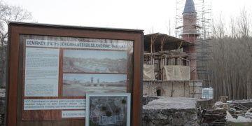 Kırklarelindeki Fatih Dökümhanesinin camisi restore ediliyor