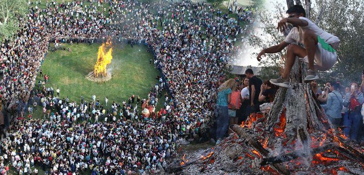 Edirne'de Hıdrellez Şenliği Kakava Ateşi ile başladı