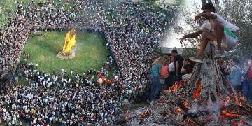 Edirnede Hıdrellez Şenliği Kakava Ateşi ile başladı