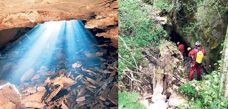 Istrancalar'da yeni mağaralar ve şelale keşfedildi