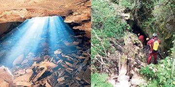 Istrancalarda yeni mağaralar ve şelale keşfedildi