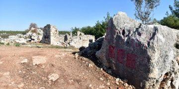 Lyrboton Kome köyünde arkeoloji kazıları tamamlandı