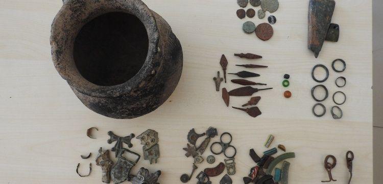 Gaziantep'te 75 Bizans dönemi eseri yakalandı