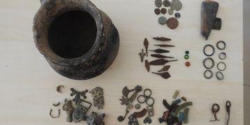 Gaziantepte 75 Bizans dönemi eseri yakalandı