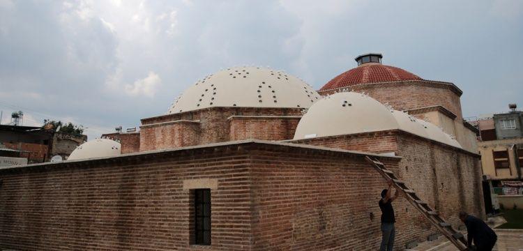 Adana'nın Yeni Hamam'ı Kültür, sanat ve sergi merkezi olacak