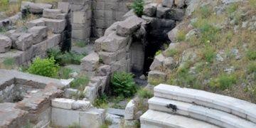 Ankaranın talihsiz arkeolojik kalıntısı