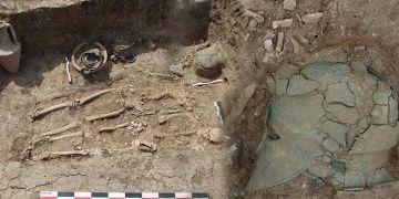 Karadenizin kuzeyinde ilk Korint miğferi bulundu