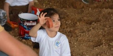Mini mini arkeologların kocaman arkeolojik sevinci