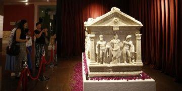 Herakles Lahdi Antalya Müzesine ziyaretçi çekiyor
