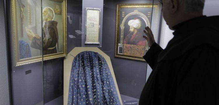 Fatih'in ibadet özgürlüğü fermanı Fojnica Manastır Müzesinde