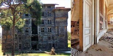 Büyükadadaki Rum Yetimhanesi restorasyona hazırlanıyor