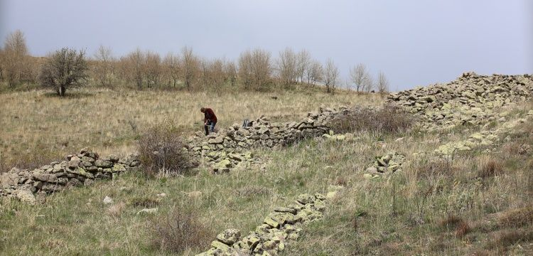 Bayburt'ta bulunan arkeolojik alanda çalışmalar başladı