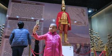 Kazakistan Milli Müzesi 170 bin eser barındırıyor