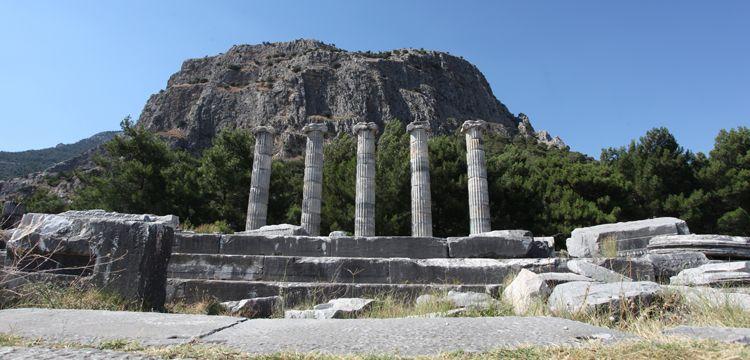 Aydın'da Afrodisyas'tan sonra Priene Antik Kenti sevinci