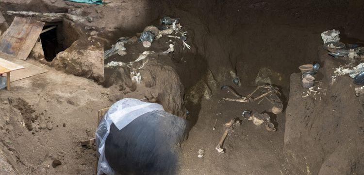 İtalya'da 2.300 yıllık antik çağ atlet mezarı bulundu