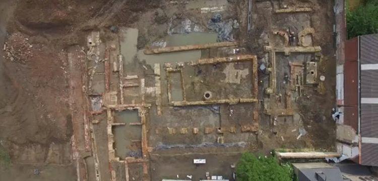 Belçika'da arkeologlar 300'den fazla iskelet buldu