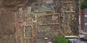 Belçikada arkeologlar 300den fazla iskelet buldu