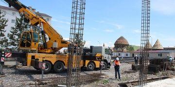 Erzurum arkeoloji müzesinin inşaatı sürüyor