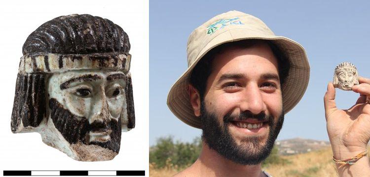 İsrail'de kral olduğu sanılan 2 bin 800 yıllık heykel başı bulundu