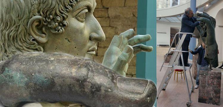 Bir Müzecilik hikayesi: Konstantin'in parmağı nasıl bulundu?