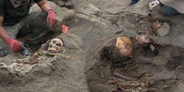 Arkeologlar Peruda kalbi sökülmüş 56 çocuk mezarı daha buldular