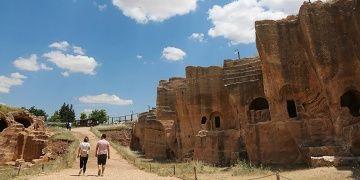 Dara Antik Kentinin yüzde 70i halen toprak altında