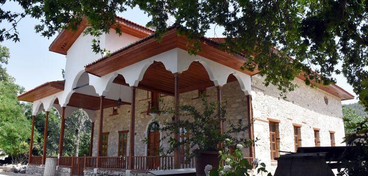 Stratonikeia Antik Kenti'ndeki Şaban Ağa Camisi ibadete hazır