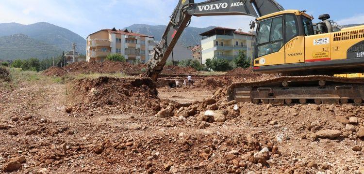 Denizli'de temel kazısında arkeolojik bulgulara rastlandı