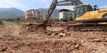 Denizlide temel kazısında arkeolojik bulgulara rastlandı